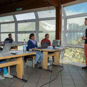 Seminar auf dem Berg - Fotoauftrag für ein Online Marketingzentrum
